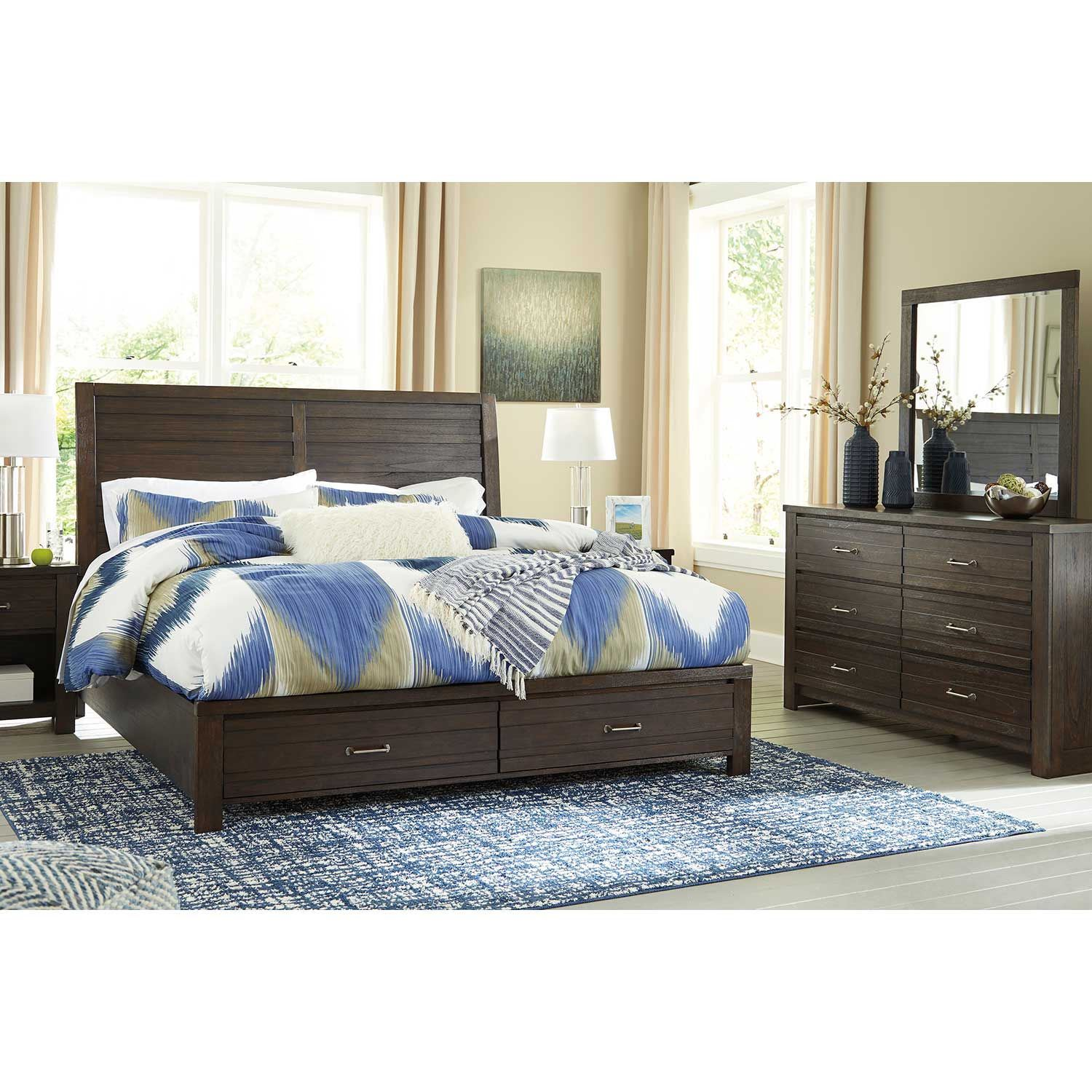 Picture of Darbry Queen Storage Bed