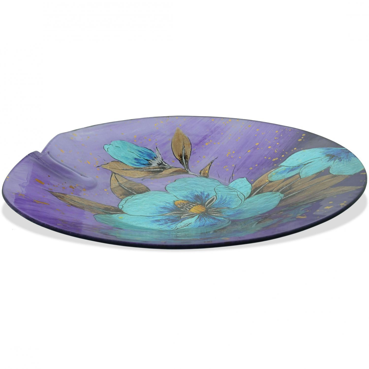 Picture of Peony Glass Plate and Stand