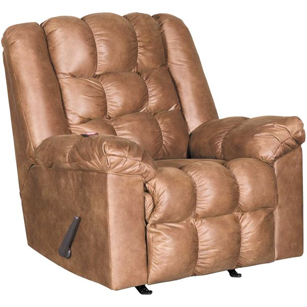 Picture of Adrano Bark Rocker Recliner with Heat and Massage