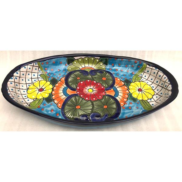 Picture of Oval Talavera Tray