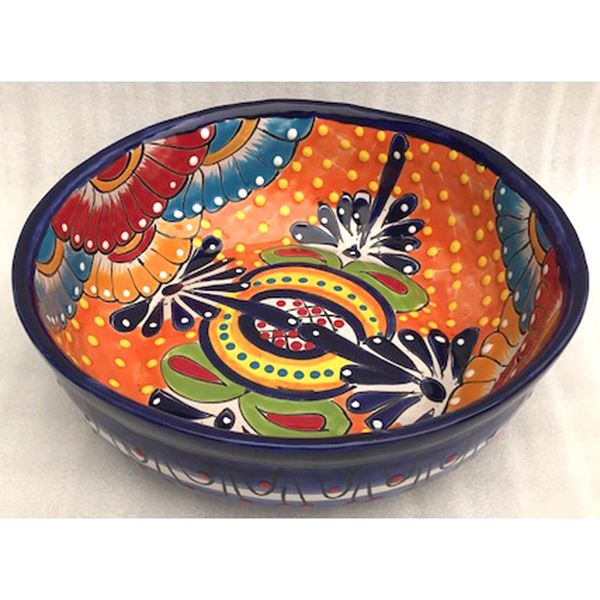 Picture of Round Talavera Bowl