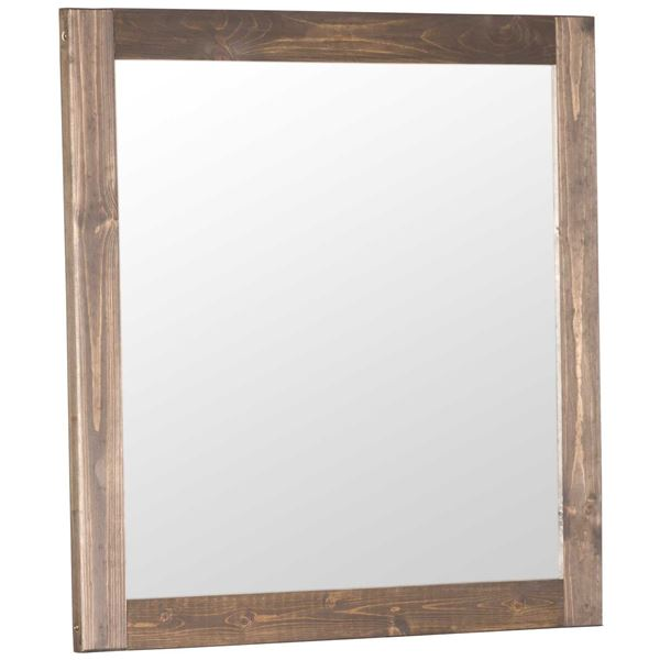 Picture of Urban Ranch Brown Mirror