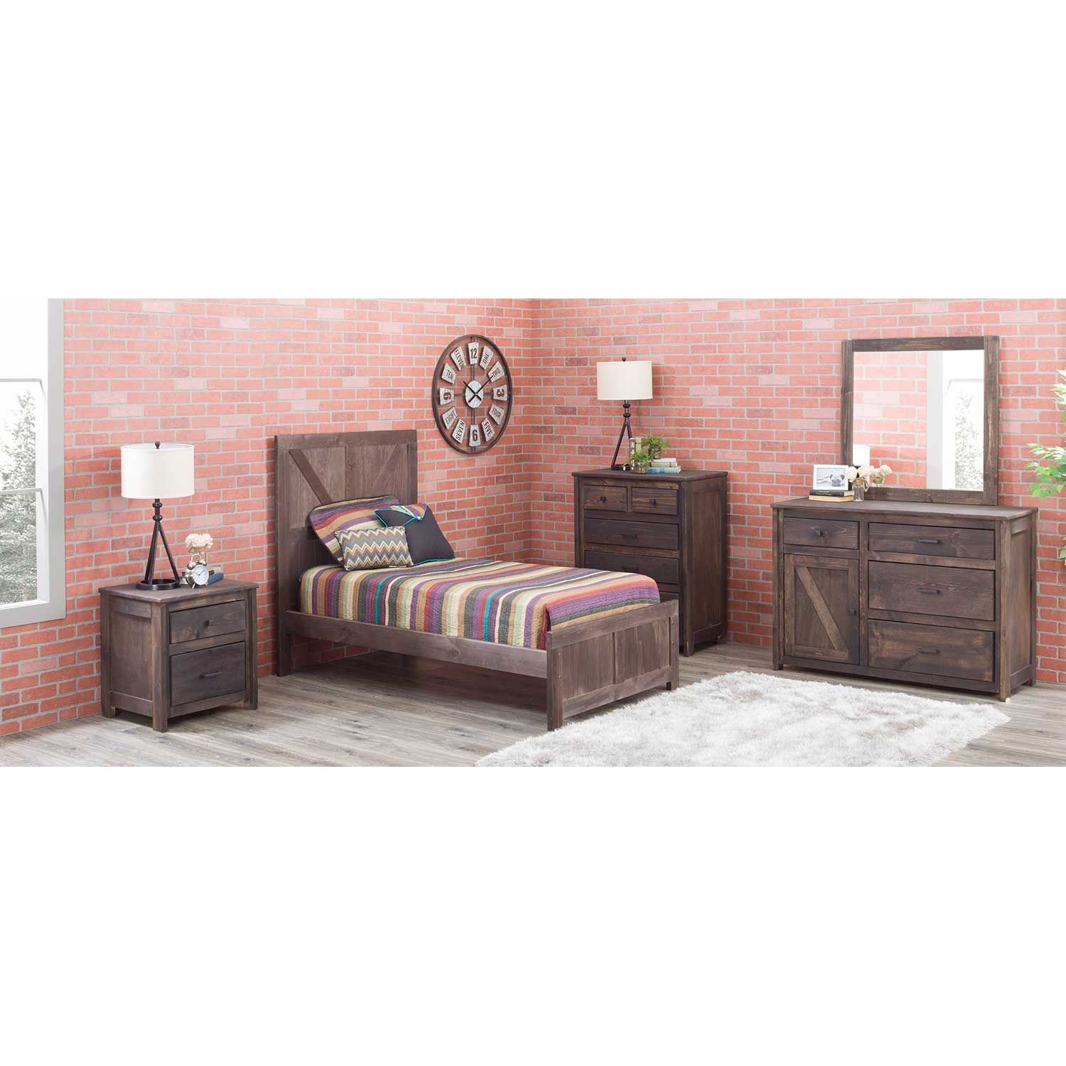 Picture of Urban Ranch Brown Chest