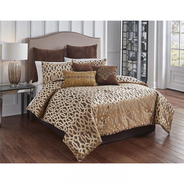 Comforter Sets Queen.Claremont Bronze King Comforter Set Bedding Hallmart
