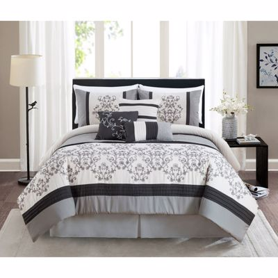 Picture of Cambridge Grey King Comforter Set