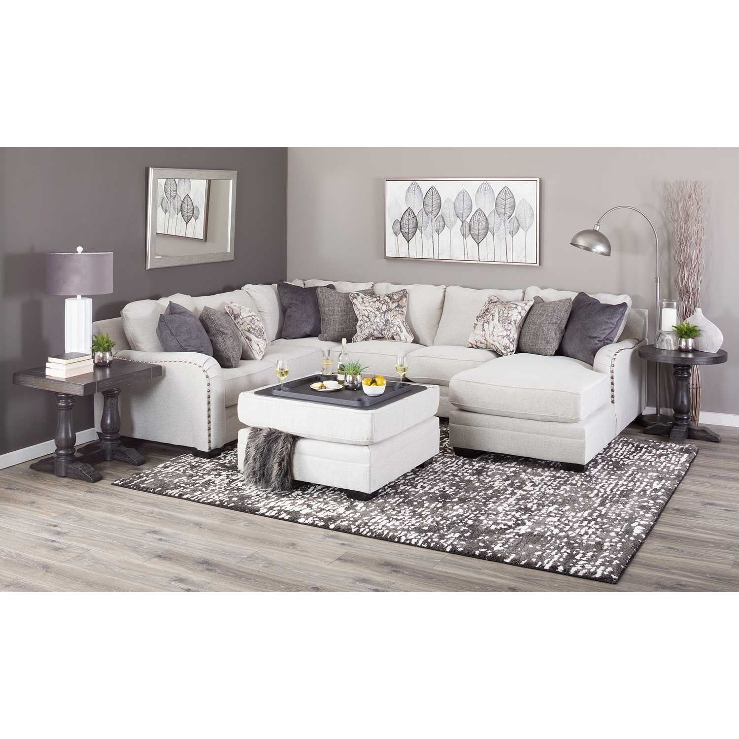 Picture of Dellara Armless Loveseat