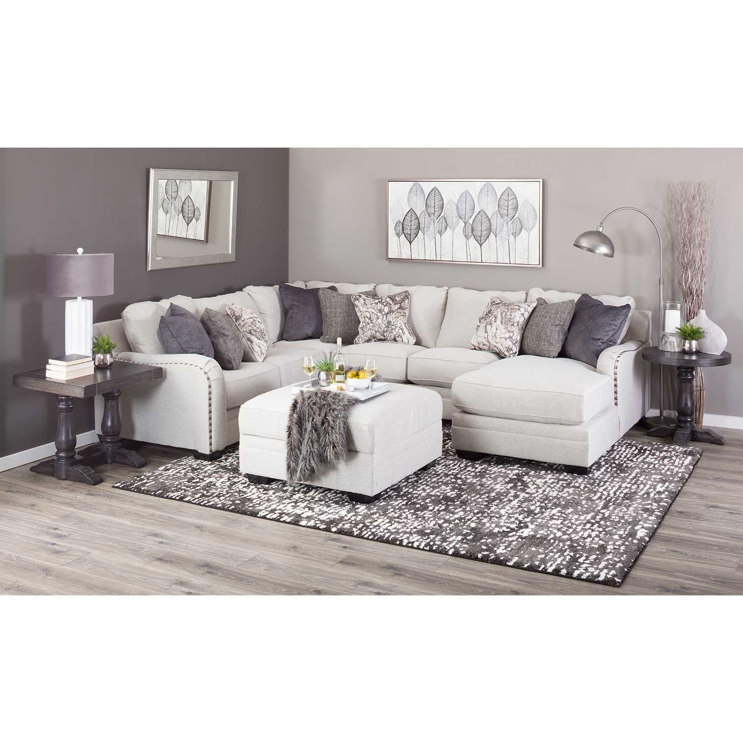 Picture of Dellara 4PC Sectional with RAF Chaise