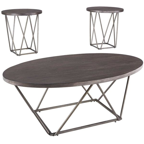 Picture of Neimhurst 3 Piece Occasional Table Set