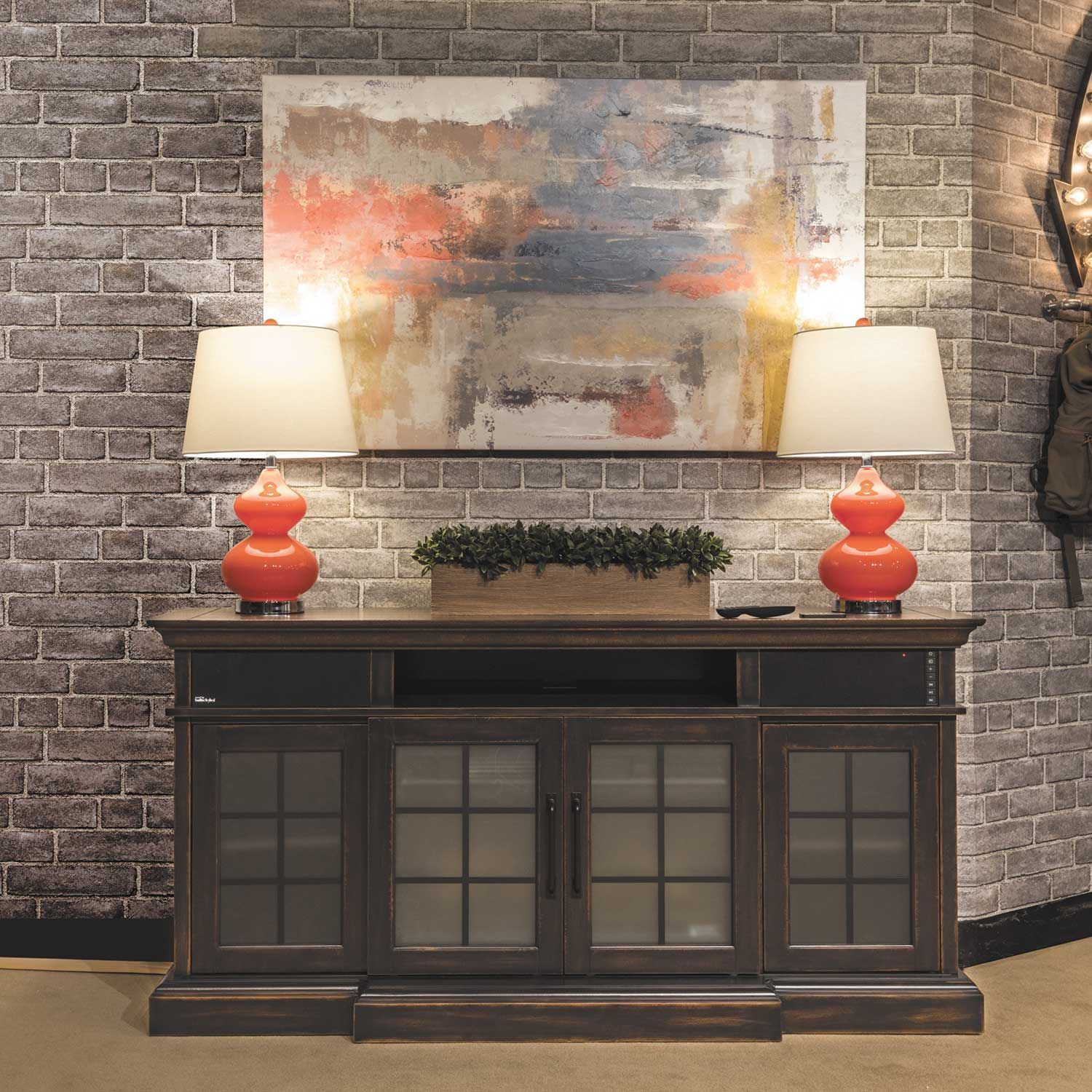 Picture of Mantel w/ bluetooth sound