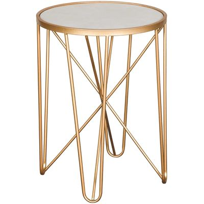 Picture of Gold Accent Table