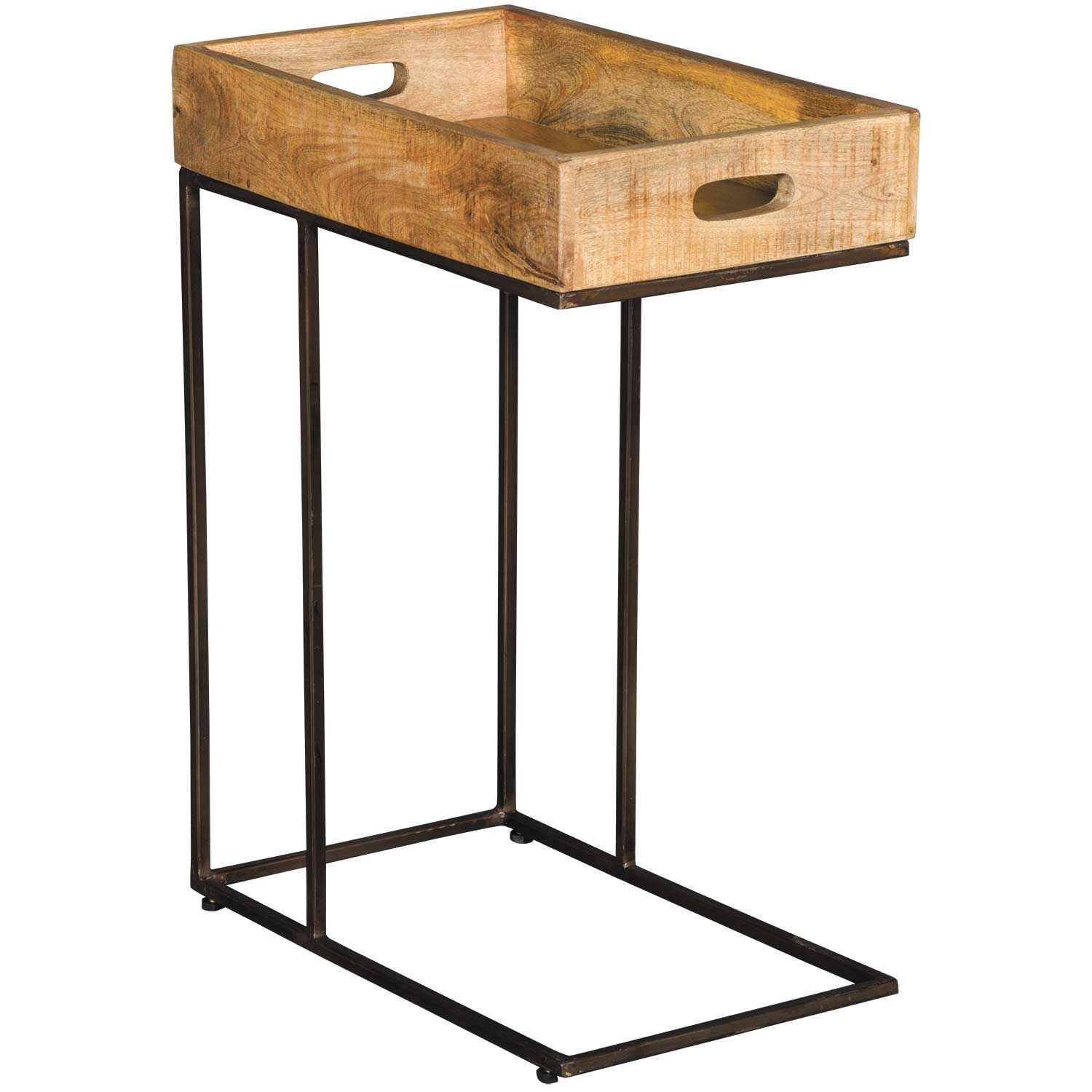 Picture of Vintage Tray Top Side Table