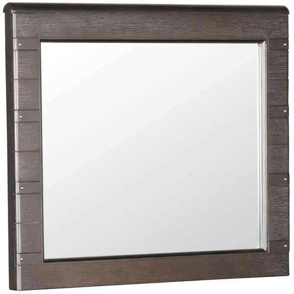 Picture of Hickory Dark Mirror