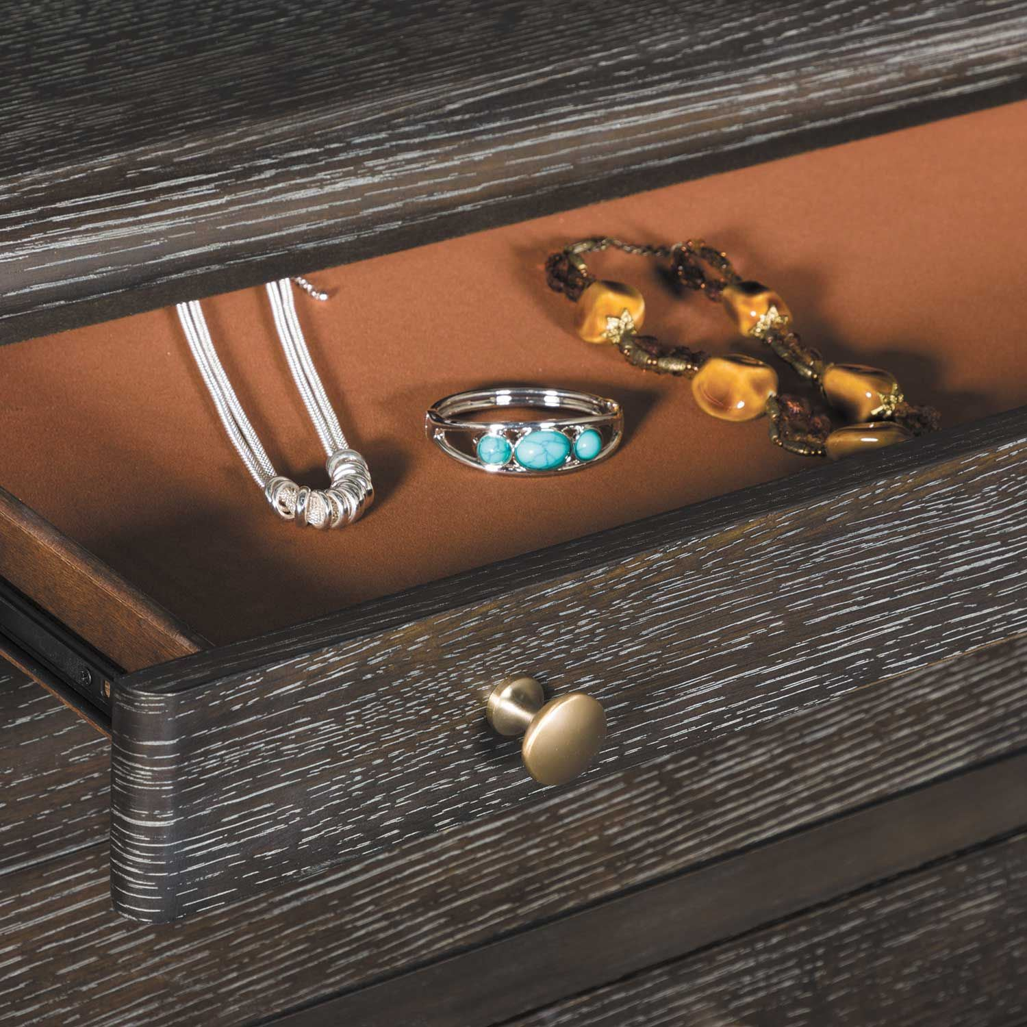 Picture of Hickory Dark Chest