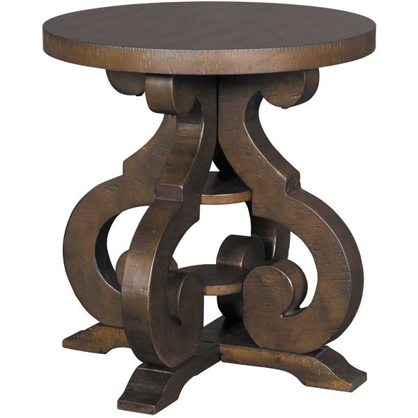 Picture of Stone Round End Table