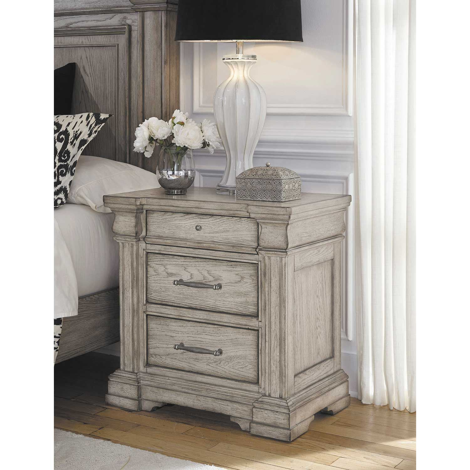 Picture of Madison Ridge 3 Drawer Nightstand