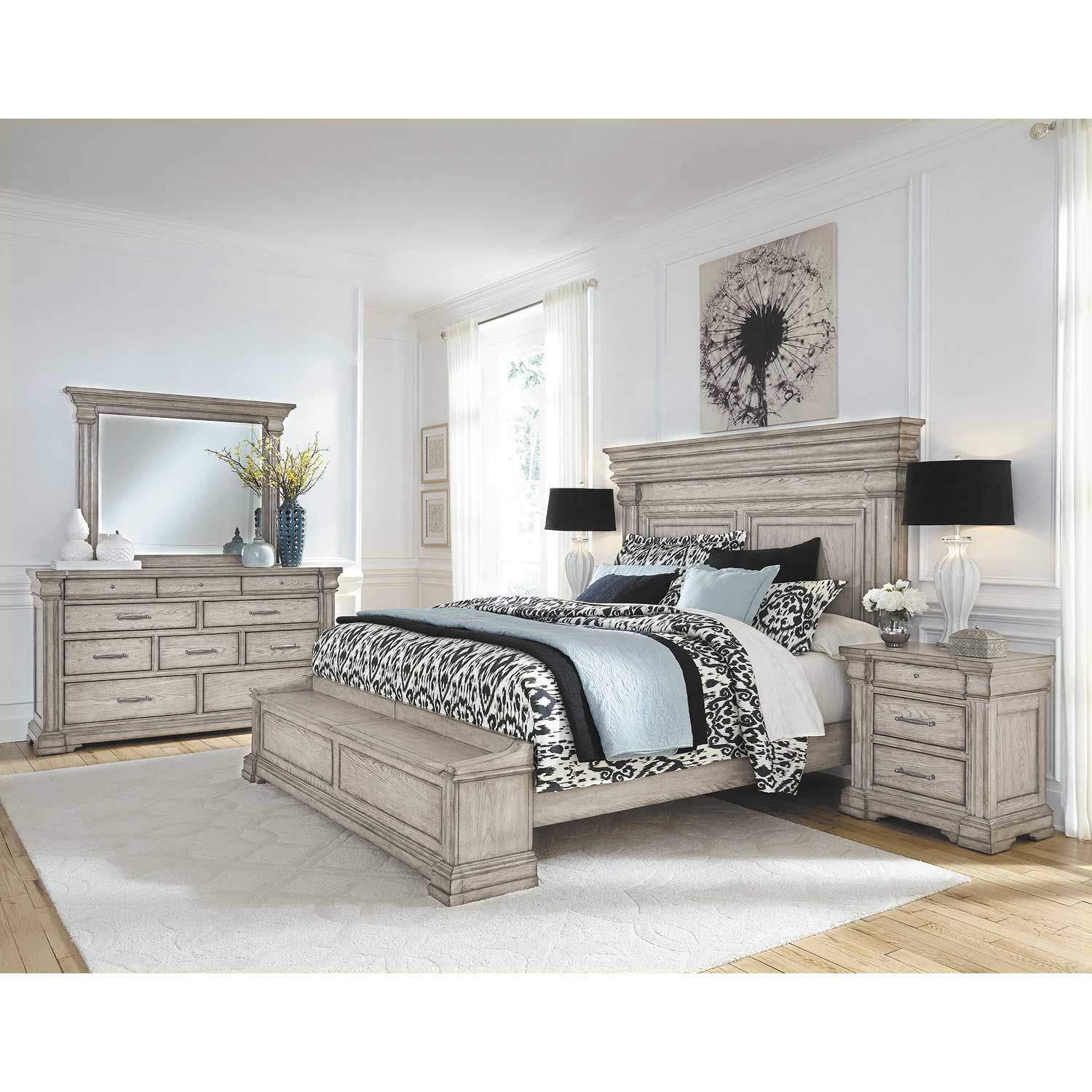 Picture of Madison Ridge Queen Storage Bed