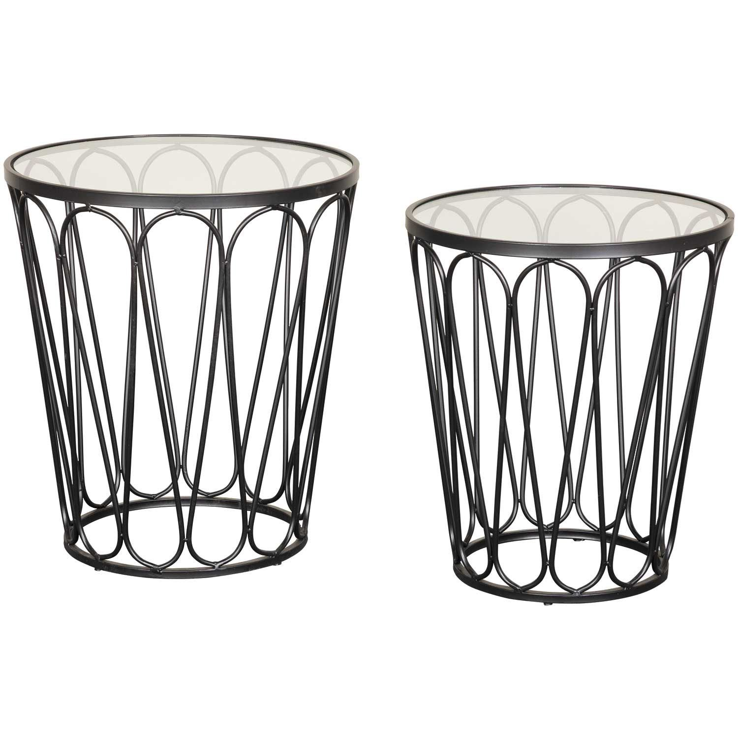Picture of Round Accent Table Set