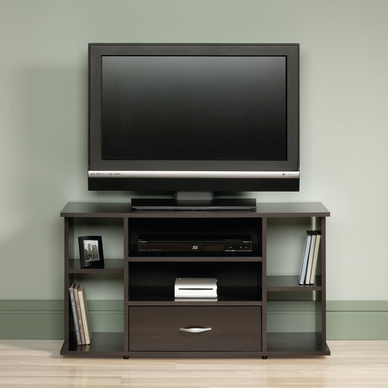 Picture of Beginnings Panel Tv Stand Cinnamon Cherry * D