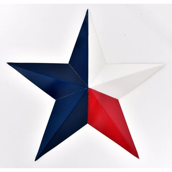 Picture of Red, White, and Blue Metal Star