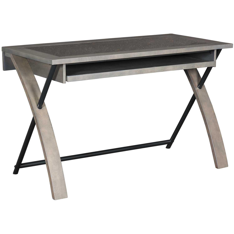 Picture of Zeta Grey Computer Desk