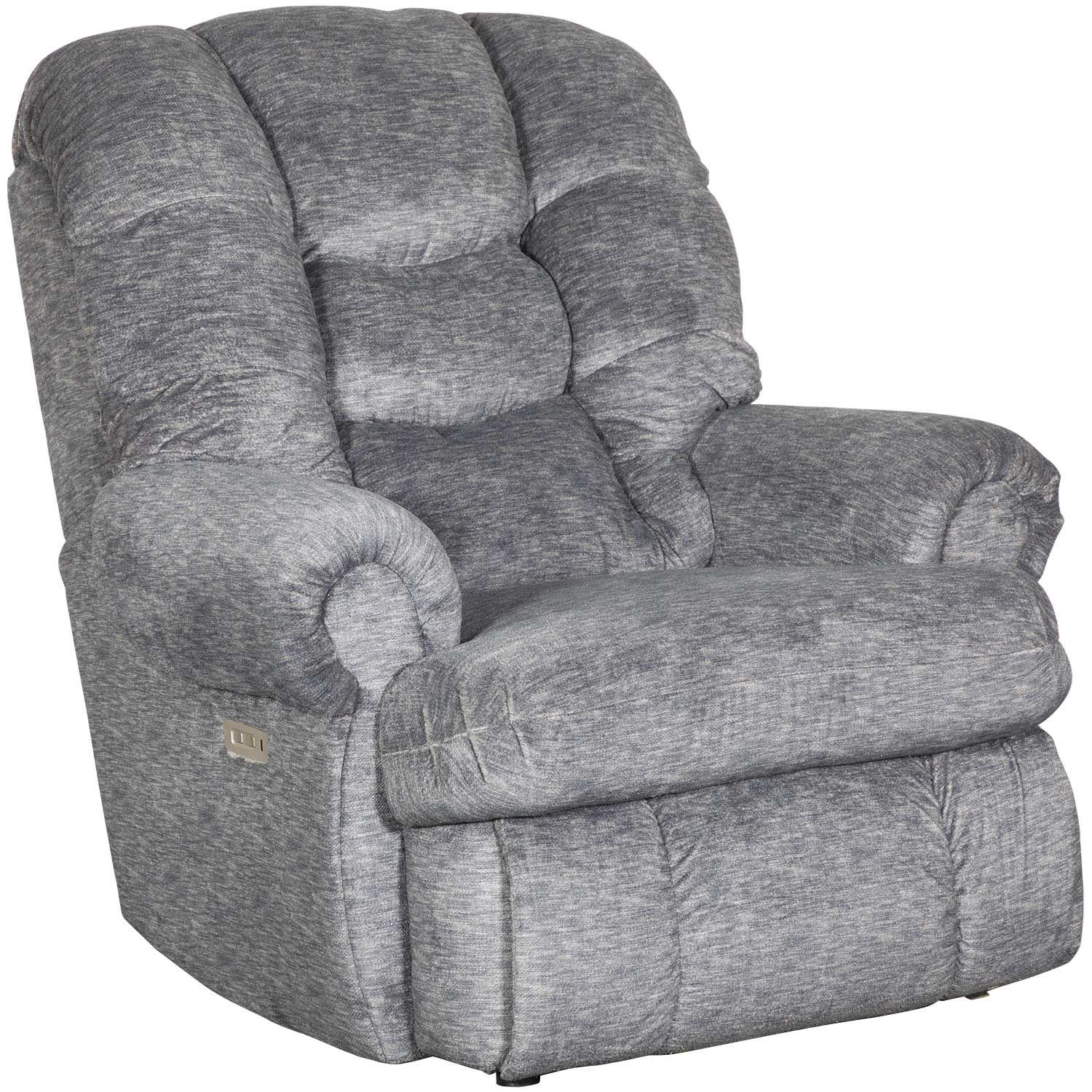 Comfort King Charcoal Power Rocker Recliner 4501p 19 Gladiator