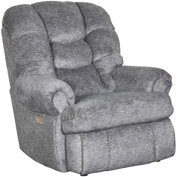 Picture of Comfort King Charcoal Power Rocker Recliner