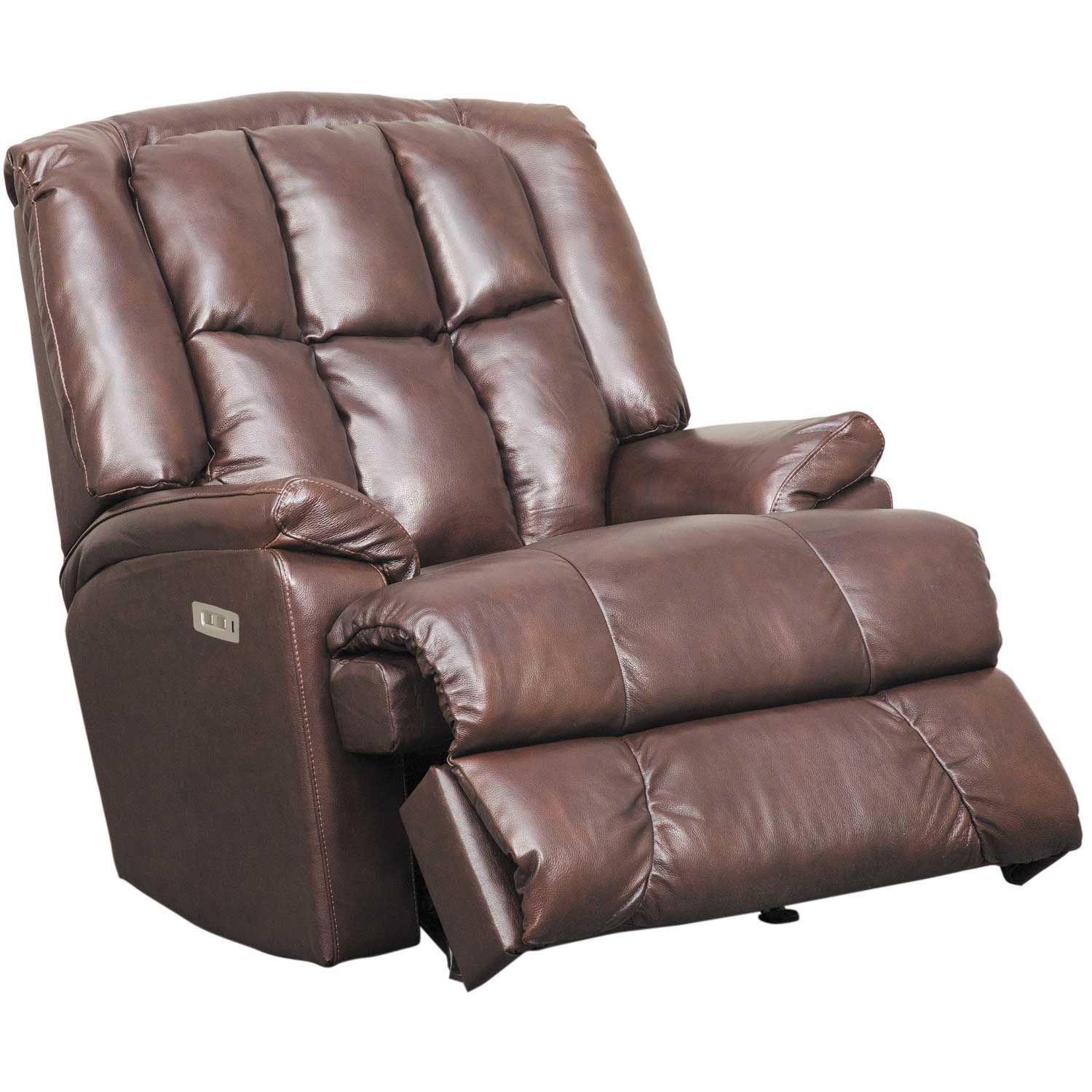 Picture of Comfort King Leather Rocker Power Recliner