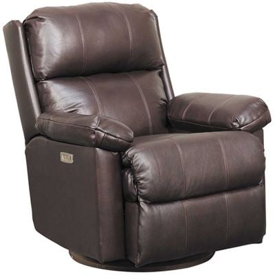 Picture of Soft Touch Bark Leather Glider Power Recliner