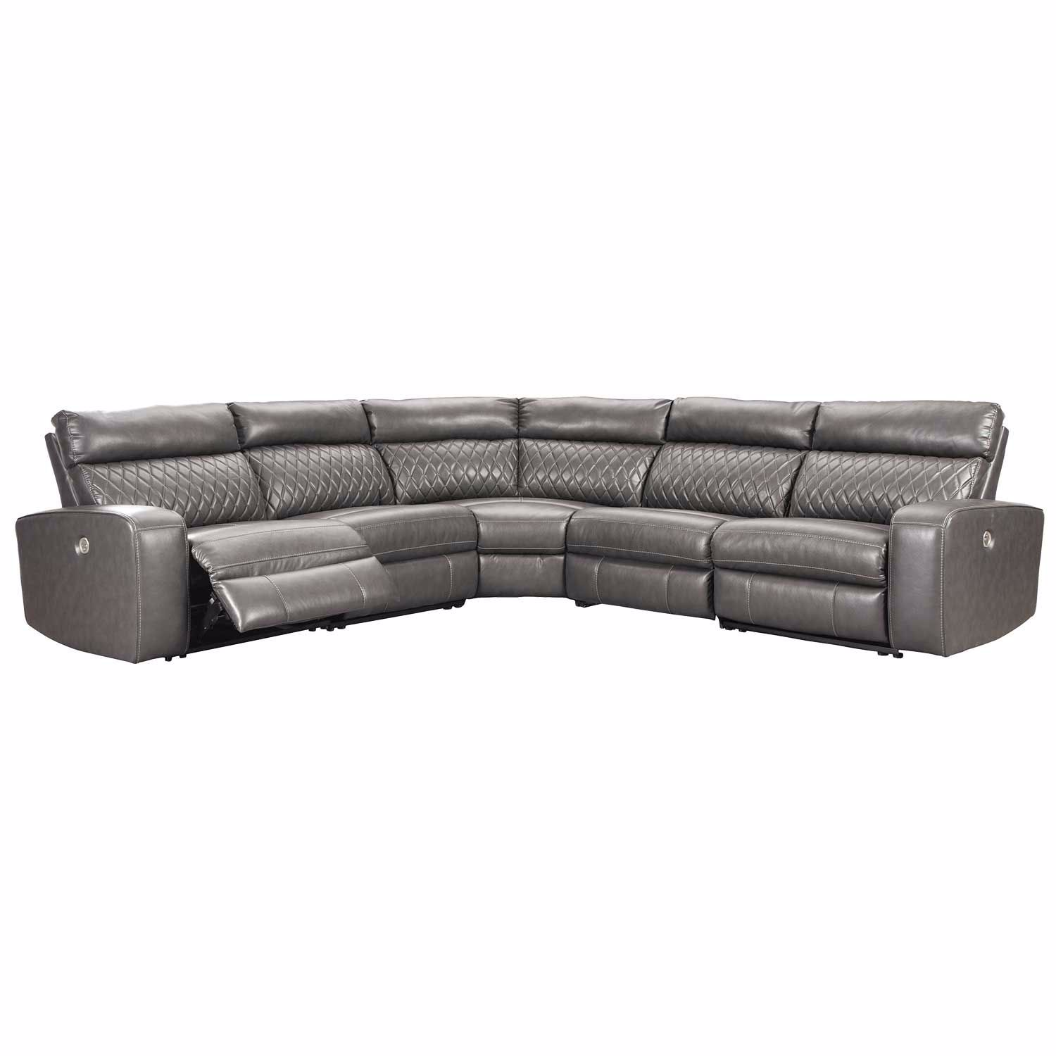 Picture of Samperstone 5PC Power Reclining Sectional