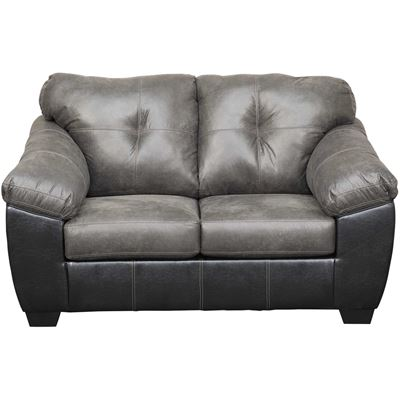 Picture of Gregale Slate Two-Tone Loveseat