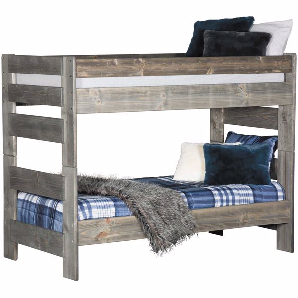 Cheyenne Twin Over Twin Bunk Bed Dw 4710 Dw 4711 4795 Tu