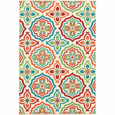 Picture of Lotta-Snow Multi Creel 8x10 Rug
