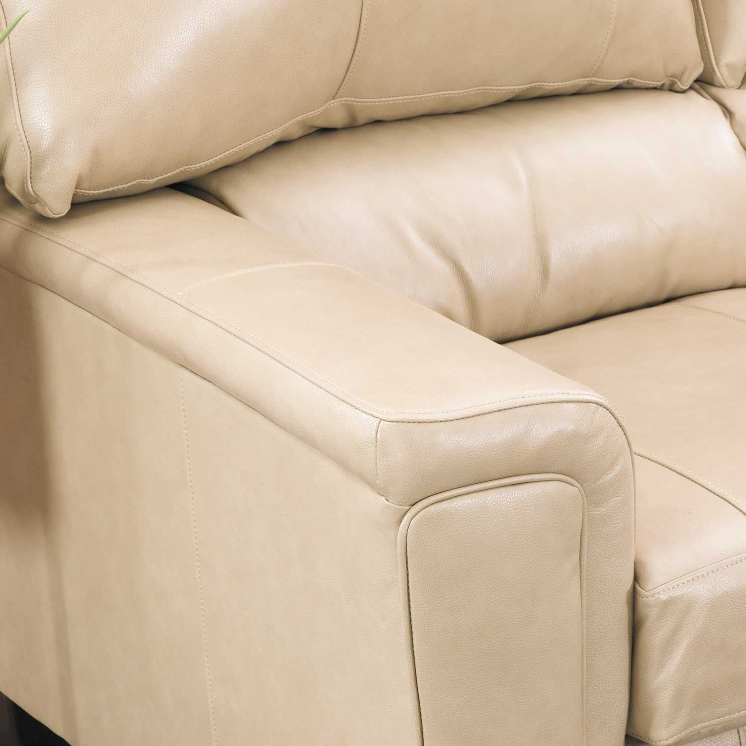 Picture of Graham Putty Leather Rocker Recliner