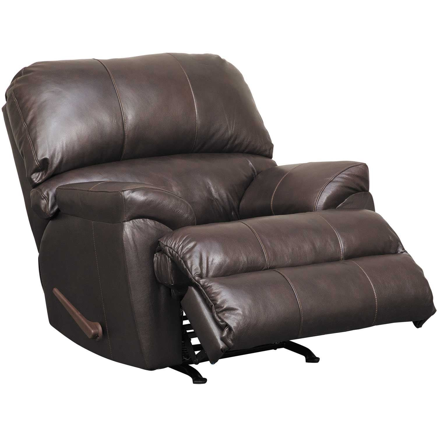 Picture of Graham Bark Leather Rocker Recliner