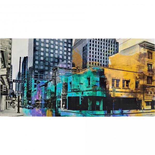 Picture of Multi Colored Street Scene