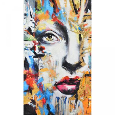 Picture of Mystery Woman Wall Decor