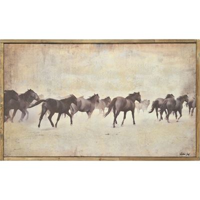 Picture of Horses On The Move Wall Dcecor