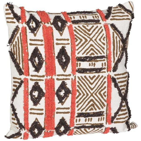 Picture of Indian Tan 20X20 Decorative Pillow