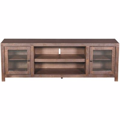 Picture of 72 Inch Canon TV Stand, Chocolate