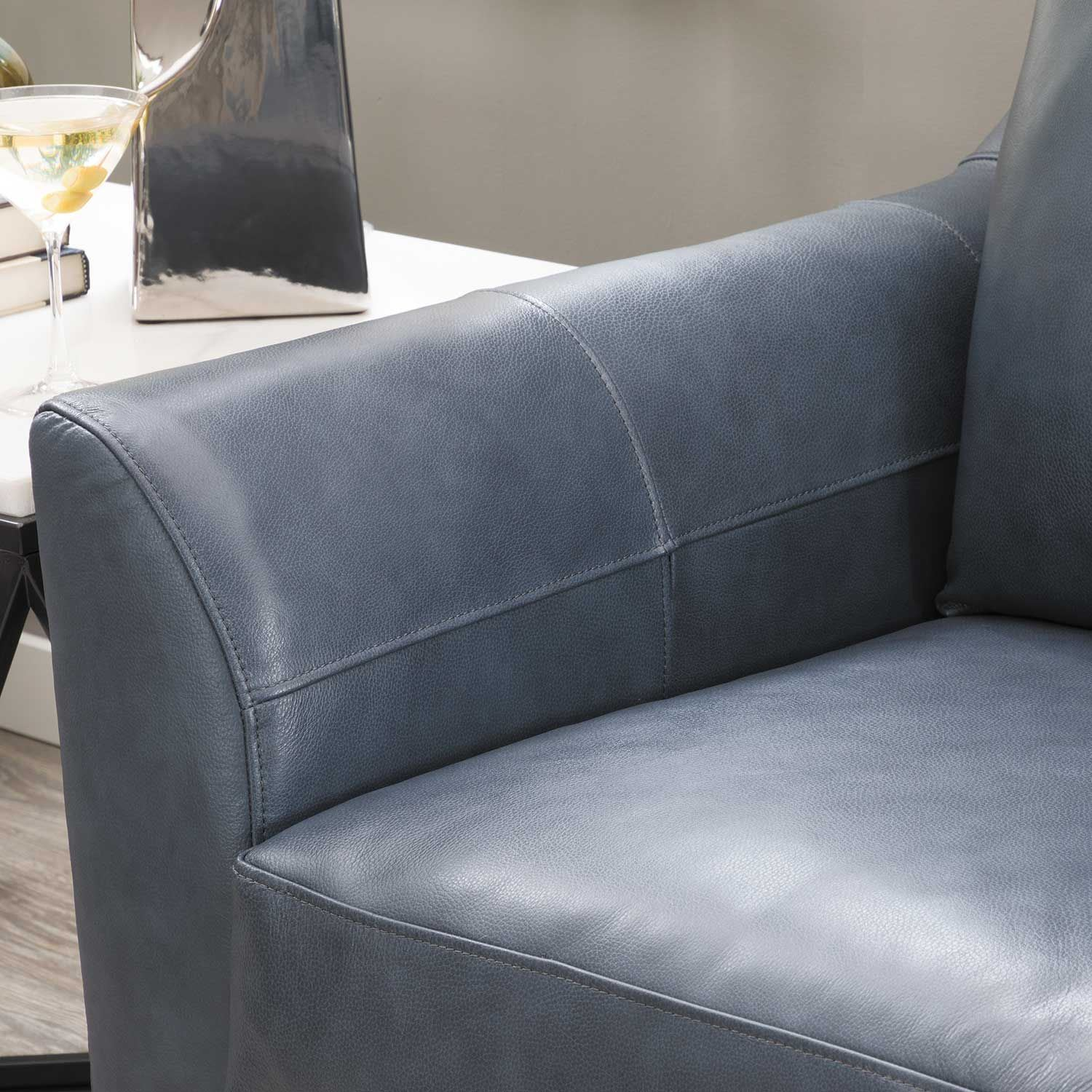 Picture of Declan Shale Leather Chair