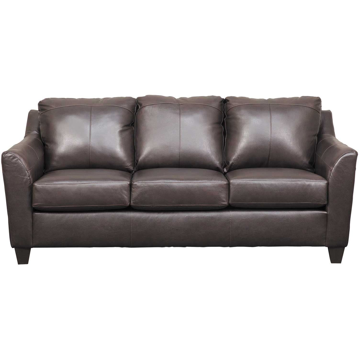 Declan Bark Leather Sofa