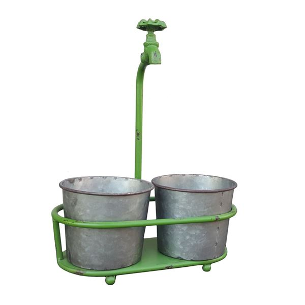 Picture of 2 Bucket Faucet Planter