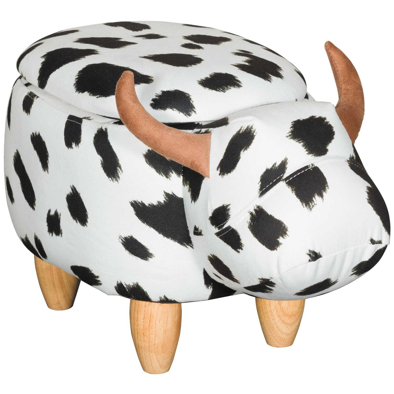 Picture of Cow Storage Ottoman