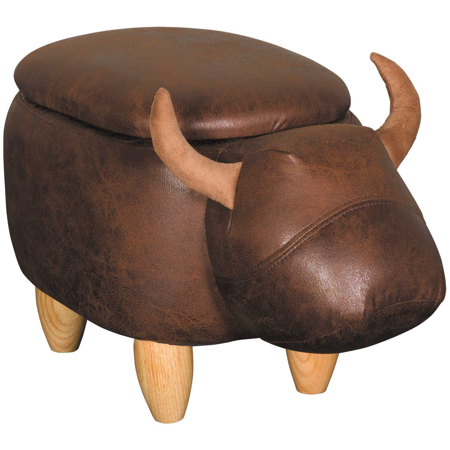 Picture of Bull Storage Ottoman