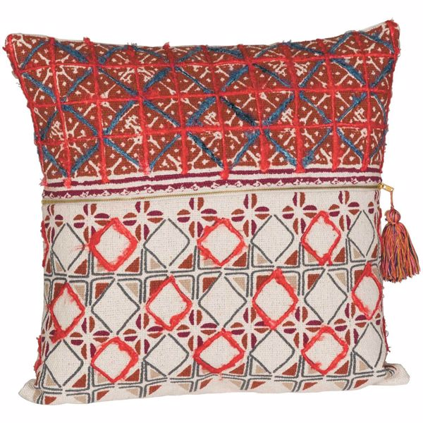 Picture of Zipped Up 20X20 Decorative Pillow