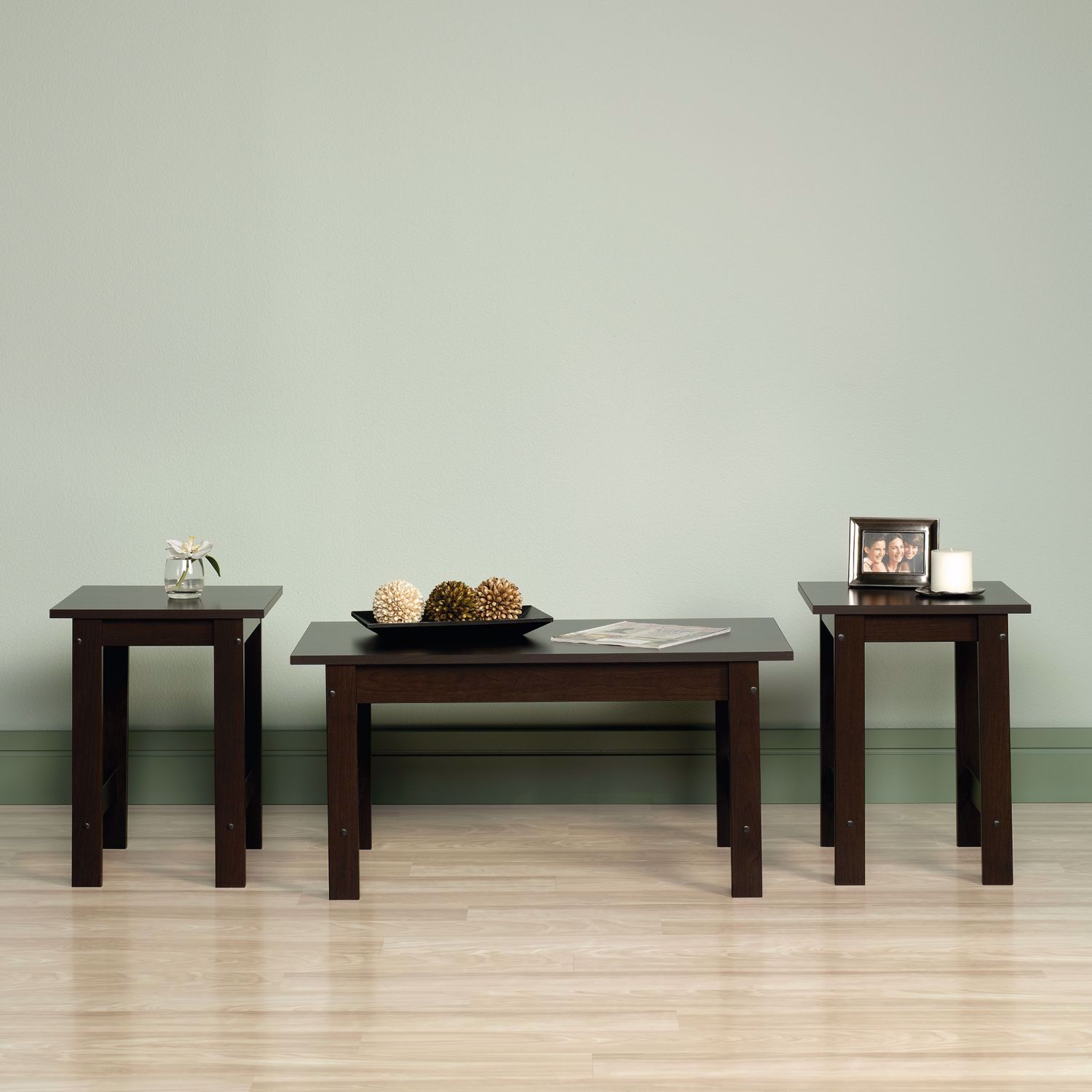 Picture of Beginnings 3-Pack Table Set Cinnamon Cherry * D