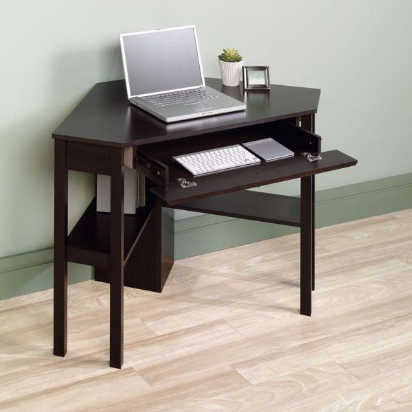 Picture of Beginnings Corner Computer Desk Cinnamon Cherry *