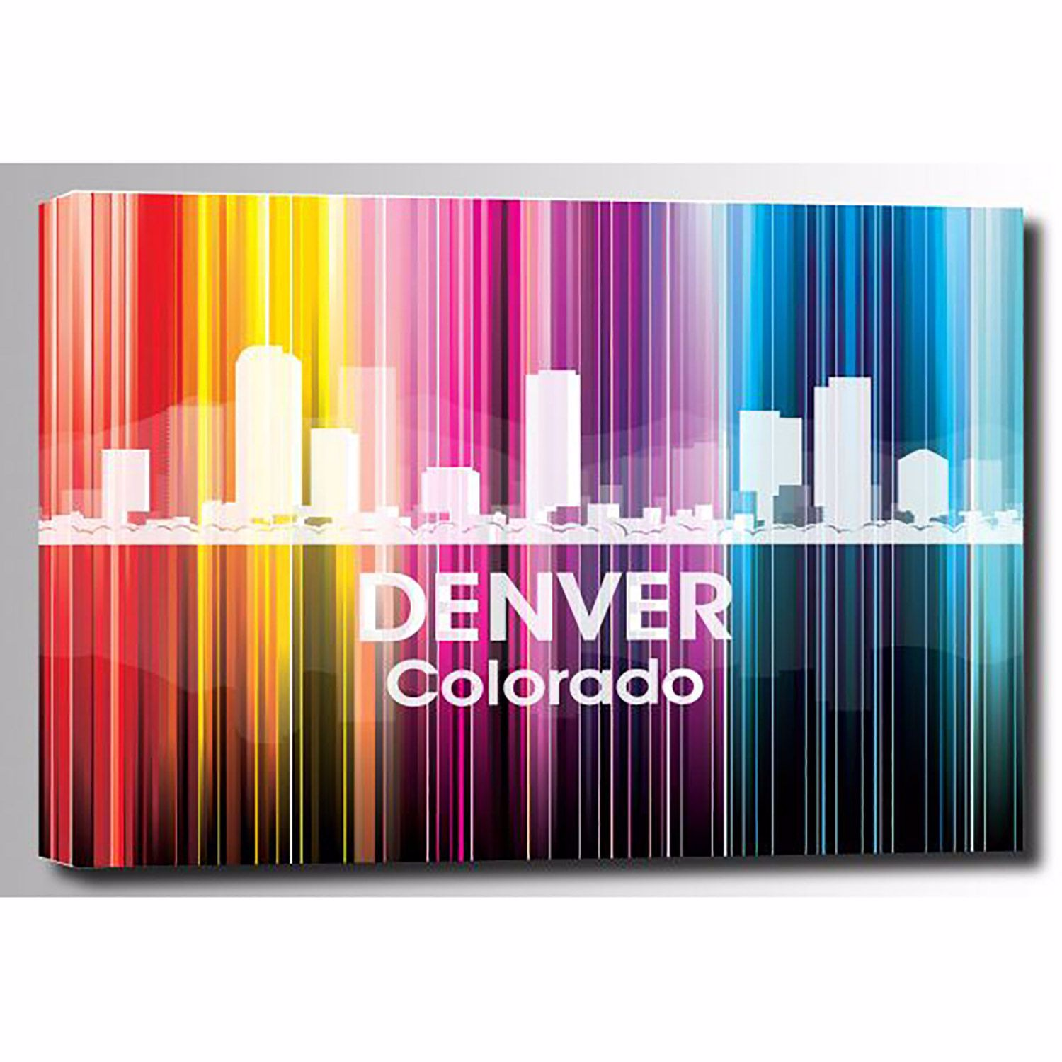 Picture of Denver Vertical Lined Rainbow 48x32 *D