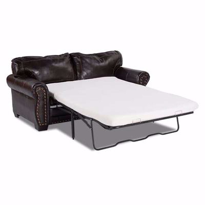 Picture of Espresso Bonded Leather Full Sleeper