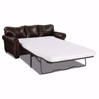 Picture of Espresso Bonded Leather Queen Sleeper
